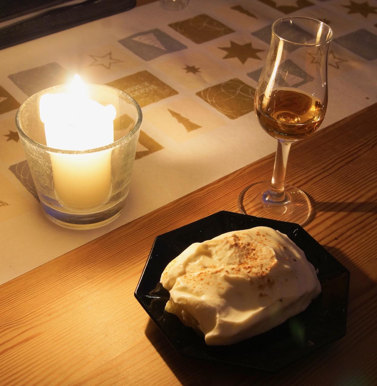 Lebkuchen Trifle mit Vanillecreme