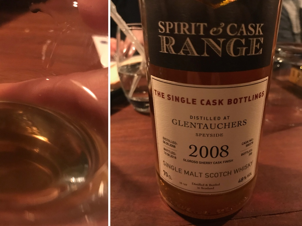 Spirit & Cask Range Glentauchers 10 Jahre, Single Cask