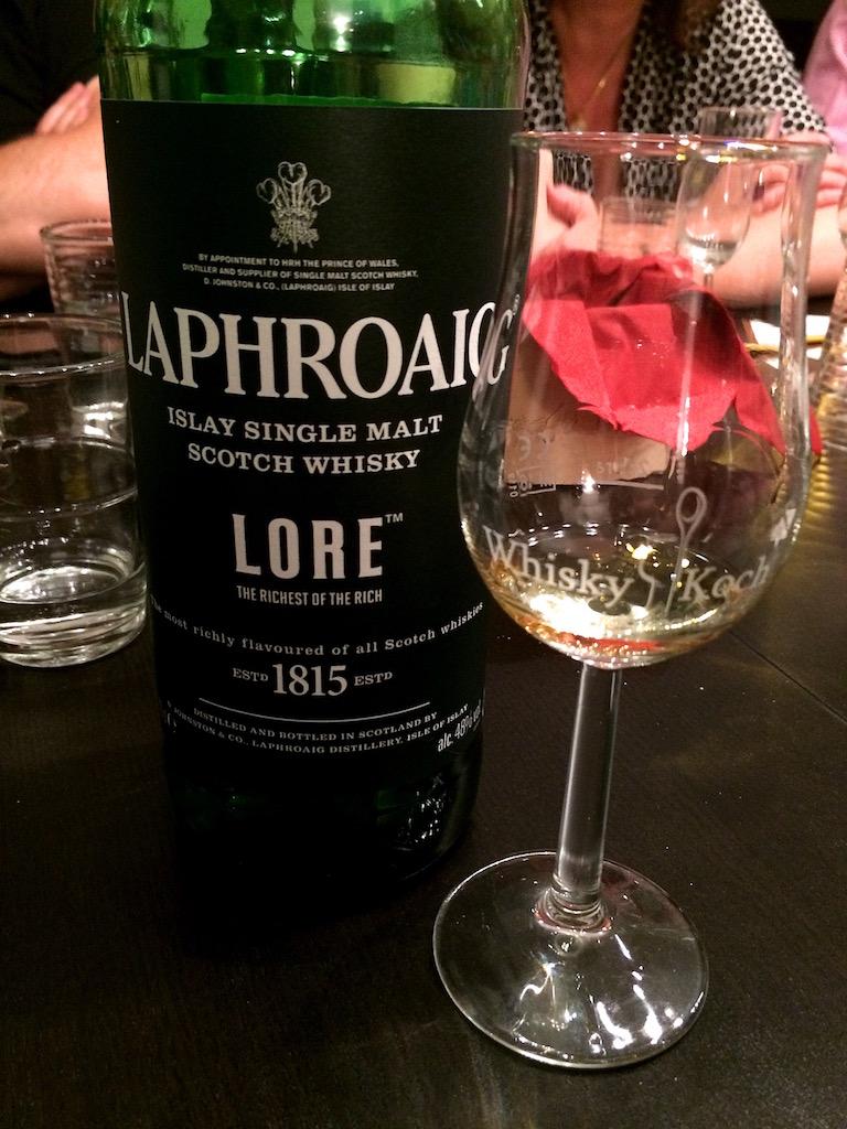 Laphroaig Lore - 7,4/10 Punkten im Tasting - Bild : © G. Ewert