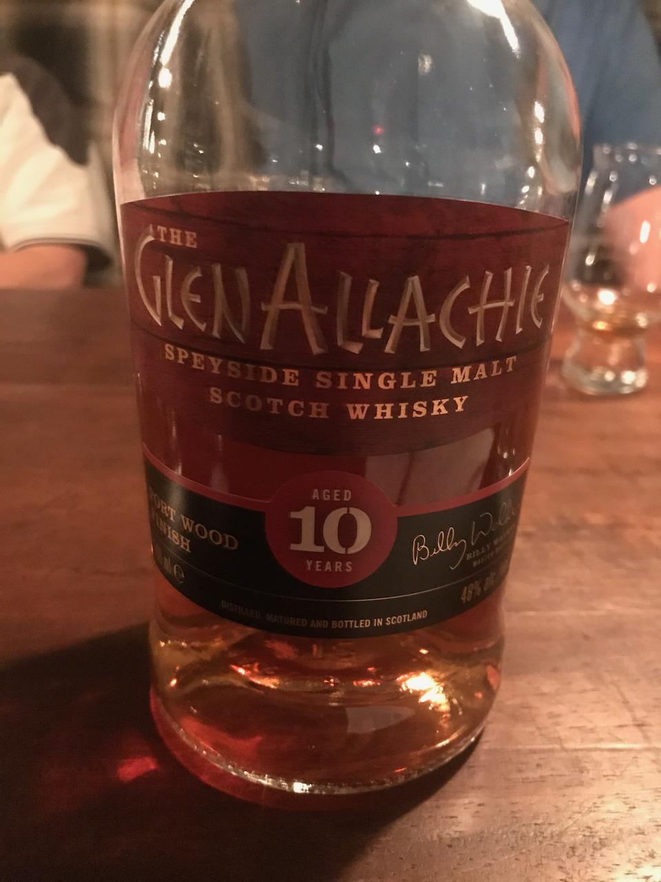 The Glen Allachie 10 Jahre