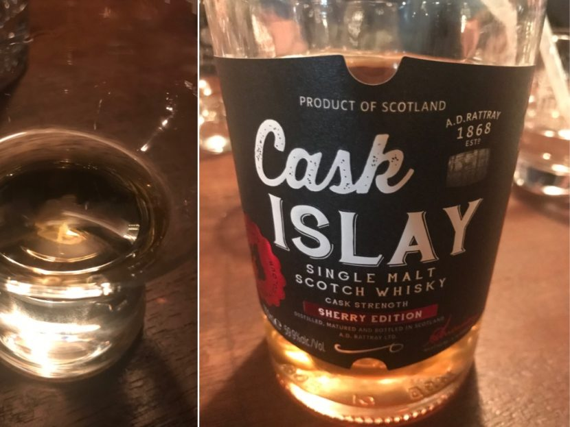 A.D. Rattray Cask Islay Sherry Edition
